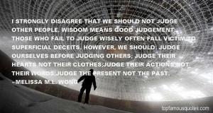 Top Quotes About Judging Others