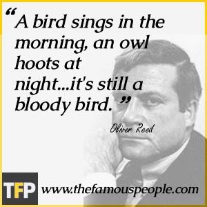 Oliver Reed Biography