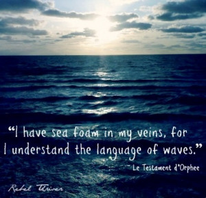 Language of the waves