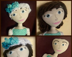 ... bald doll, custom made dolls for cancer patients,alopecia, by Swanky