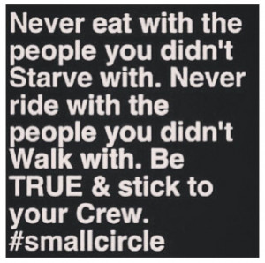 Circle Of Friendship Quotes Small circle of friends is