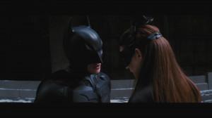 Batman The Dark Knight Rises Selina Kyle Kiss