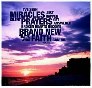 ve Seen Miracles, Just Happen, Silent Prayers Answered, Broken ...