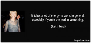 More Faith Ford Quotes