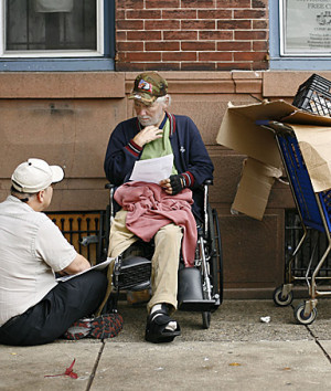... homeless shelters. Currently, one in four homeless Americans are