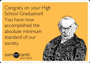 Funny High School Graduation Cards (3)