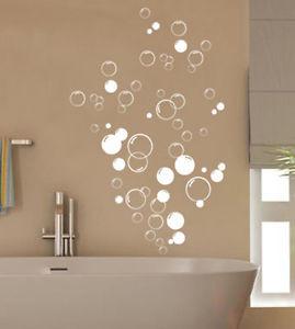 ... -Bathroom-Vinyl-wall-stickers-Shower-Door-Home-DIY-Wall-Art-Decal