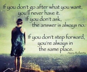 just one step forward....
