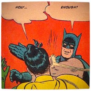 Holy Robin!