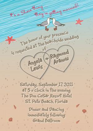 wedding invitation wording examples sample wedding invitations wedding ...