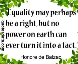 Women will only have true equality when men share with them the ...