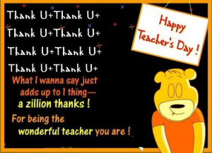 Latest 2012 Teachers Day SMS, Quotes, Poems, Scraps, Greetings, Wishes ...