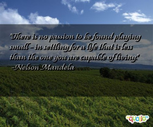 Quotes about Settling