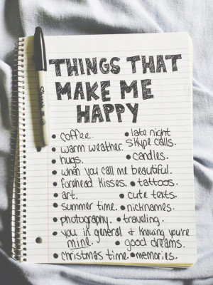 Good With Me – What Really Makes Me Happy??