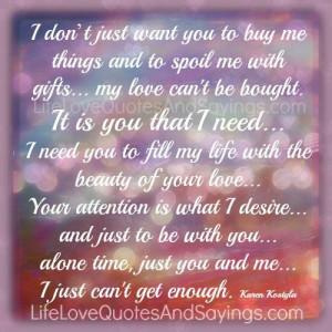 Need You…