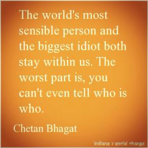 india #chetanbhagat #qotd #quotes #selfreflection