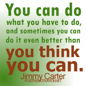 you can do it.determination quotes