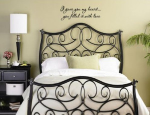 Romantic Quotes For Bedroom Walls