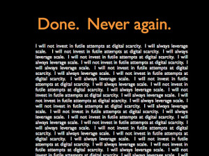 quotes about being done trying