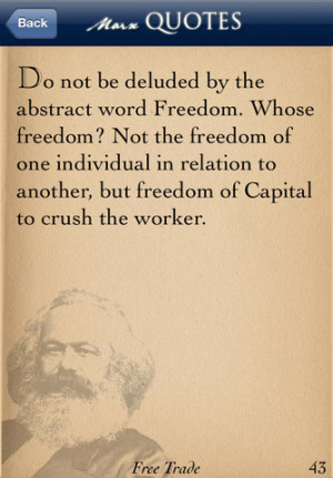 Download Karl Marx Quotes iPhone iPad iOS