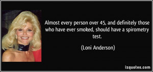 Almost every person over 45, and definitely those who have ever smoked ...