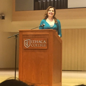 quotes from Oscar-winner Geena Davis' speech at Ithaca College