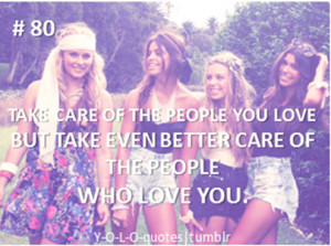 ... But Take Even Better Care Of The People Who Love You ~ Apology Quote