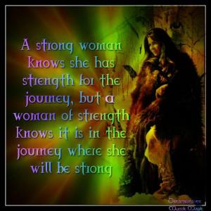 Strong Native American Women