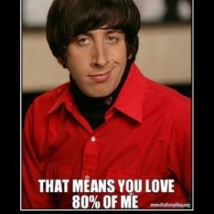 Big bang theory! Too funny (: