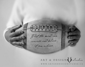 Motivational Quote, Inspirational phrase, Football Art, NFL Art ...