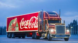 Coca Cola Christmas Truck, Full HD wallpaper, 1080p