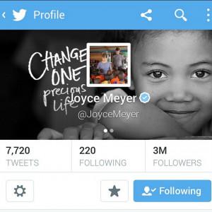 joycemeyer #twitter