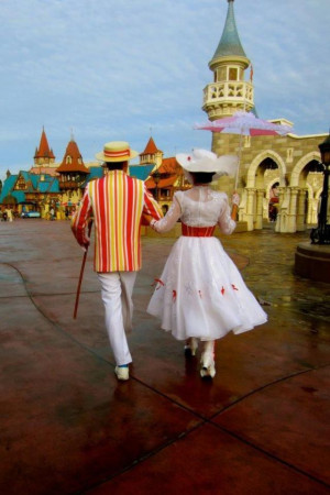 bert and mary poppins in the magic kingdom in 2010 bert from mary http ...