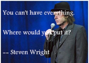 Steven wright quotes and sayings witty wisdom short