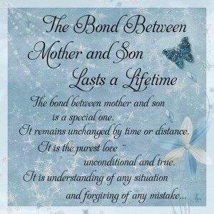 The Bond Between Mother and Son ♥Greatest Blessed, Mi Boys, Amazing ...