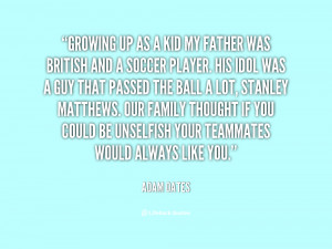 Soccer Dad Quotes