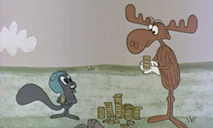... Go Back > Pix For > Rocky The Flying Squirrel And Bullwinkle The Moose