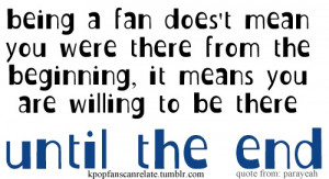 KPop Fans Can Relate: Being a fan doesn't mean you were there from the ...
