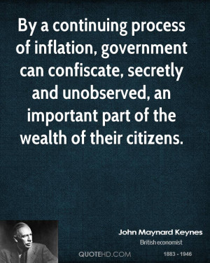 John Maynard Keynes Government Quotes