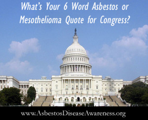 ... Voices Unite Sending Powerful 6 Words Asbestos and Mesothelioma Quotes