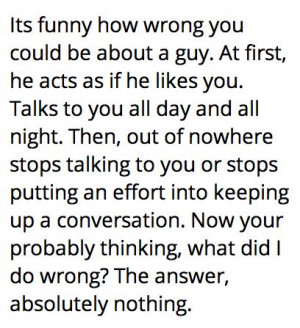 love #heartbreak #confusion #sayings #guys #girls #wrong #confused