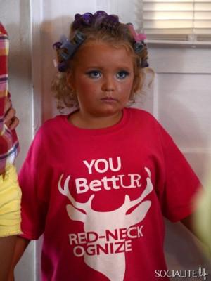 Alana Thompson aka Honey Boo Boo Child