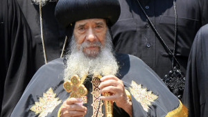 Pope Shenouda III, in 2010 KHALED DESOUKI/AFP/Getty Images