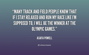 Track and Field Inspirational Quotes