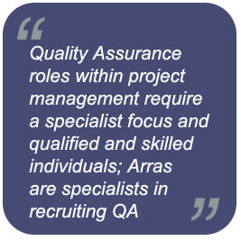 Programme Office Quality Assurance Recruitment