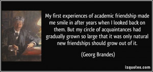 My first experiences of academic friendship made me smile in after ...