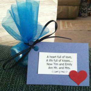 Wedding Favors Did Not Make