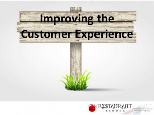 ... Experience in your restaurant, hospitality or retail business