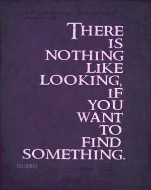 The Hobbit Quote