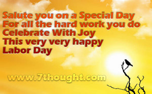Labor Day Messages 2014, Sayings, SMS